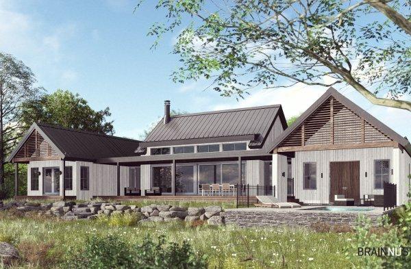 Construction Savco projet Bord de l'eau Lanaudière
